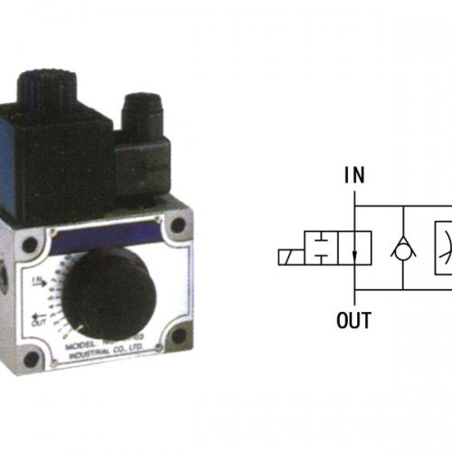 电磁流量控制阀